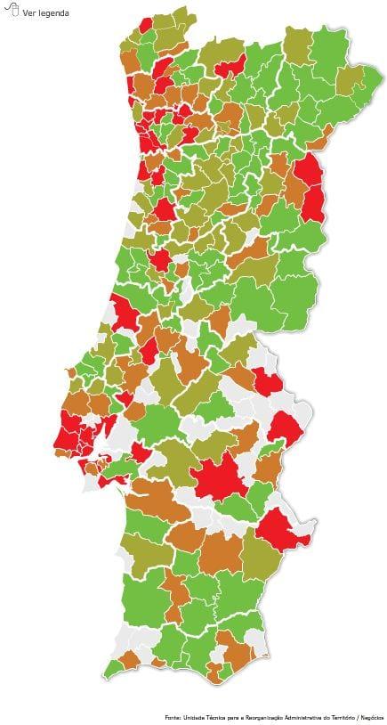 Extinção de freguesias 2013