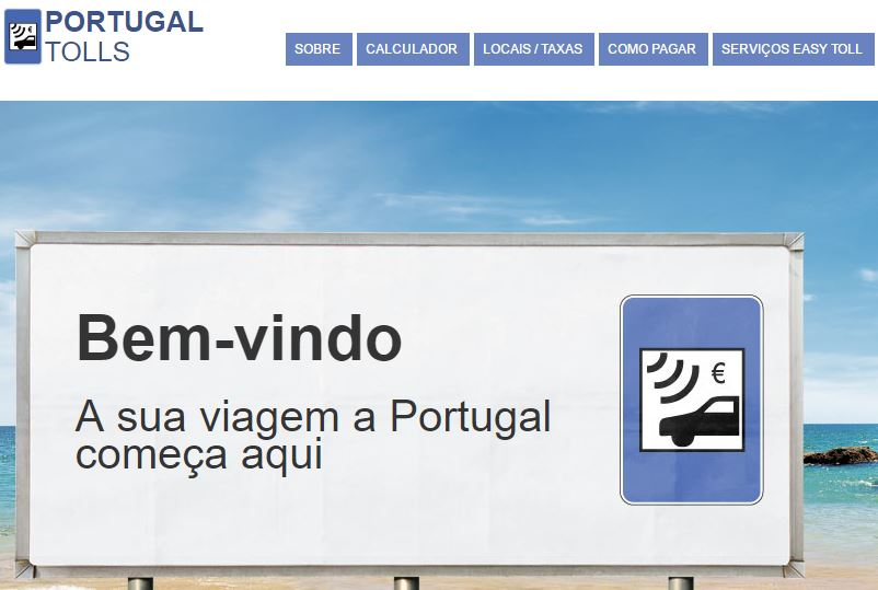 Como pagar portagens em Portugal