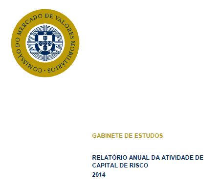 Relatório anual de atividade de capital de risco - 2014