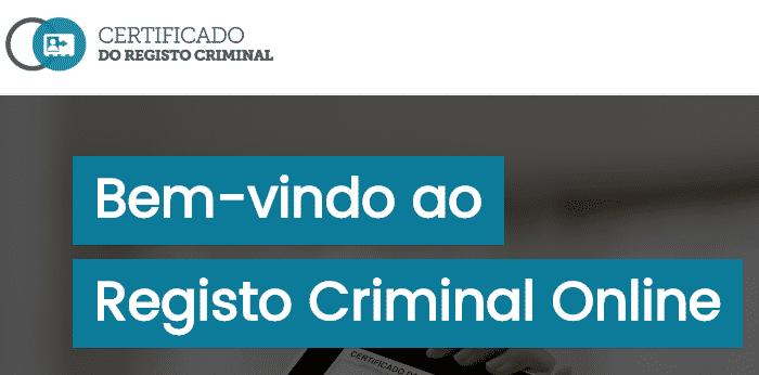 Certificado do Registo Criminal Online