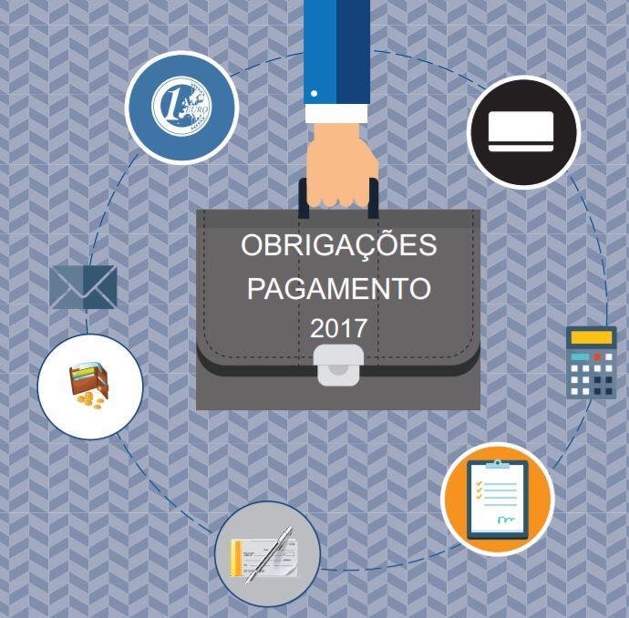 Agenda Fiscal 2017 - Obrigações de Pagamento