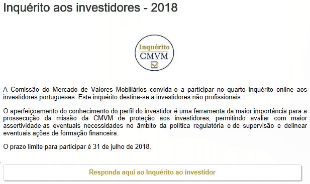 Perfil do Investidor 2018