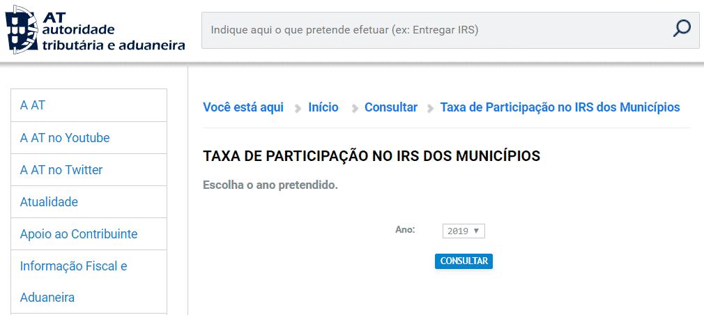 Municípios que vão devolver IRS em 2020 Devolu C3 A7 C3 A3o IRS 2020 por concelho